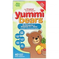 Hero Nutritional Products, Yummi Bears, эхинацея + витамин С + цинк
