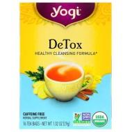 Yogi Tea, Детокс, без кофеина