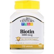 21st Century, Биотин