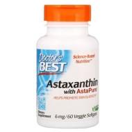 Doctor's Best, Астаксантин с AstaPure
