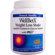 Natural Factors, WellBetX, коктейль для похудения