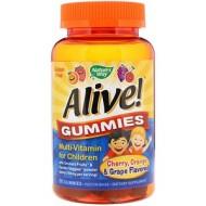 Nature's Way, Alive! Мультивитамин для детей, жевательные конфеты