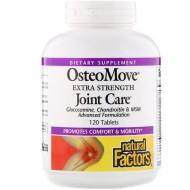 Natural Factors, OsteoMove, сверхсильный уход за суставами