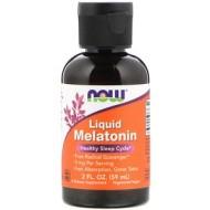 Now Foods, жидкий мелатонин, 59 мл