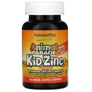 Nature's Plus, Source of Life, Animal Parade, пастилки Kid Zinc