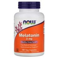 Now Foods, Melatonin, 3 mg