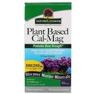 Nature's Answer, Cal-Mag на растительной основе, 500/250 мг, 120 вегетарианских капсул